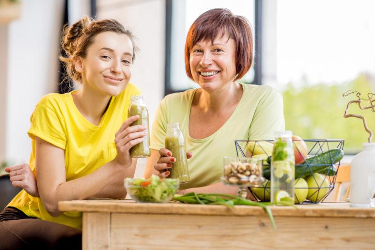 как правильно похудеть после 60