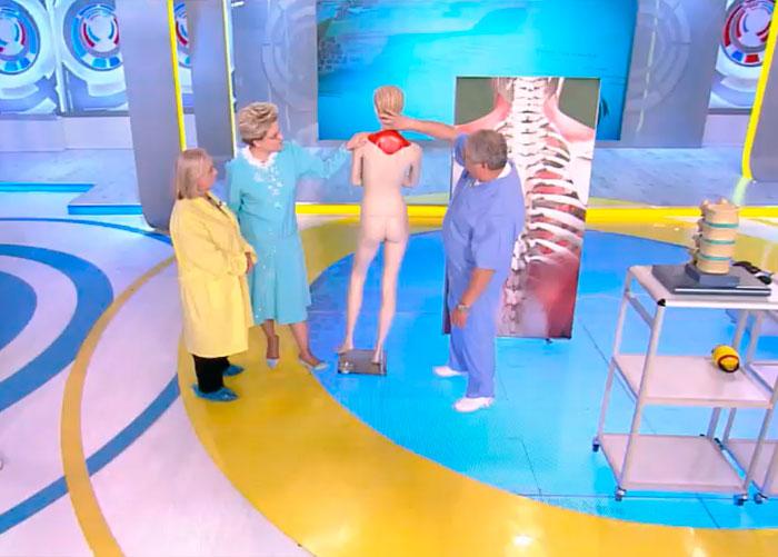Телепередача жить здорово забол плечевого сустава боль коленном суставе колене