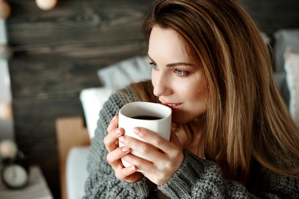 Картинка я пью кофе